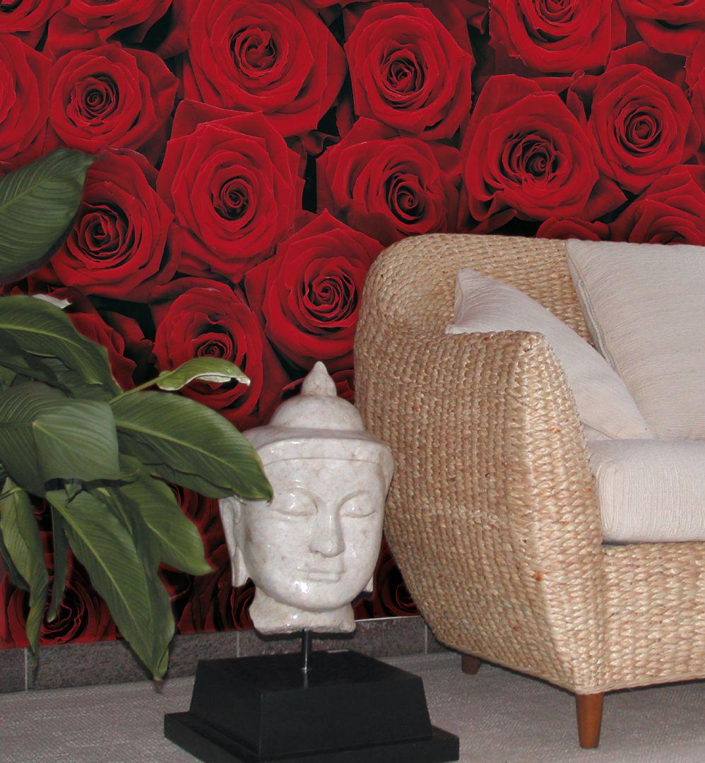 Фото розария с мраморной крошкой