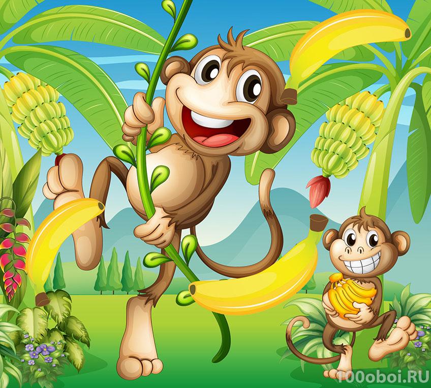 любая рисунок с обезьяной что