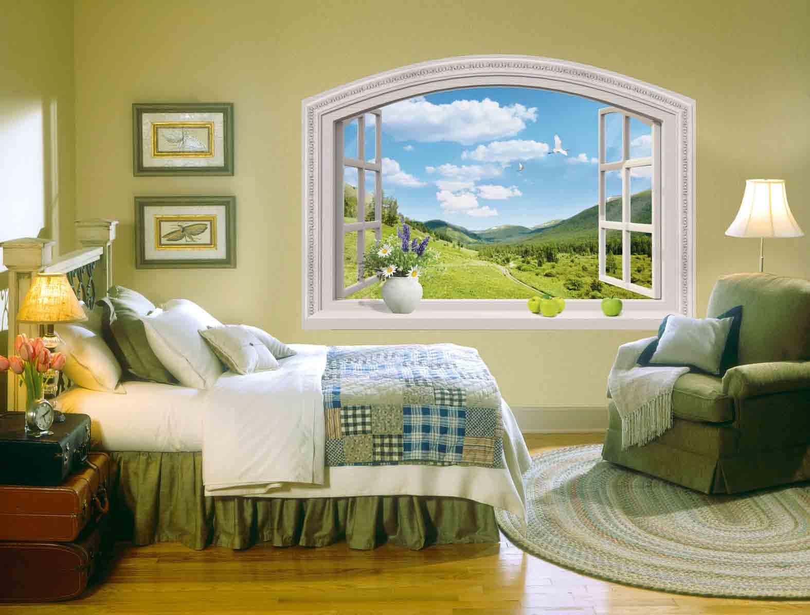Имитация окна фото