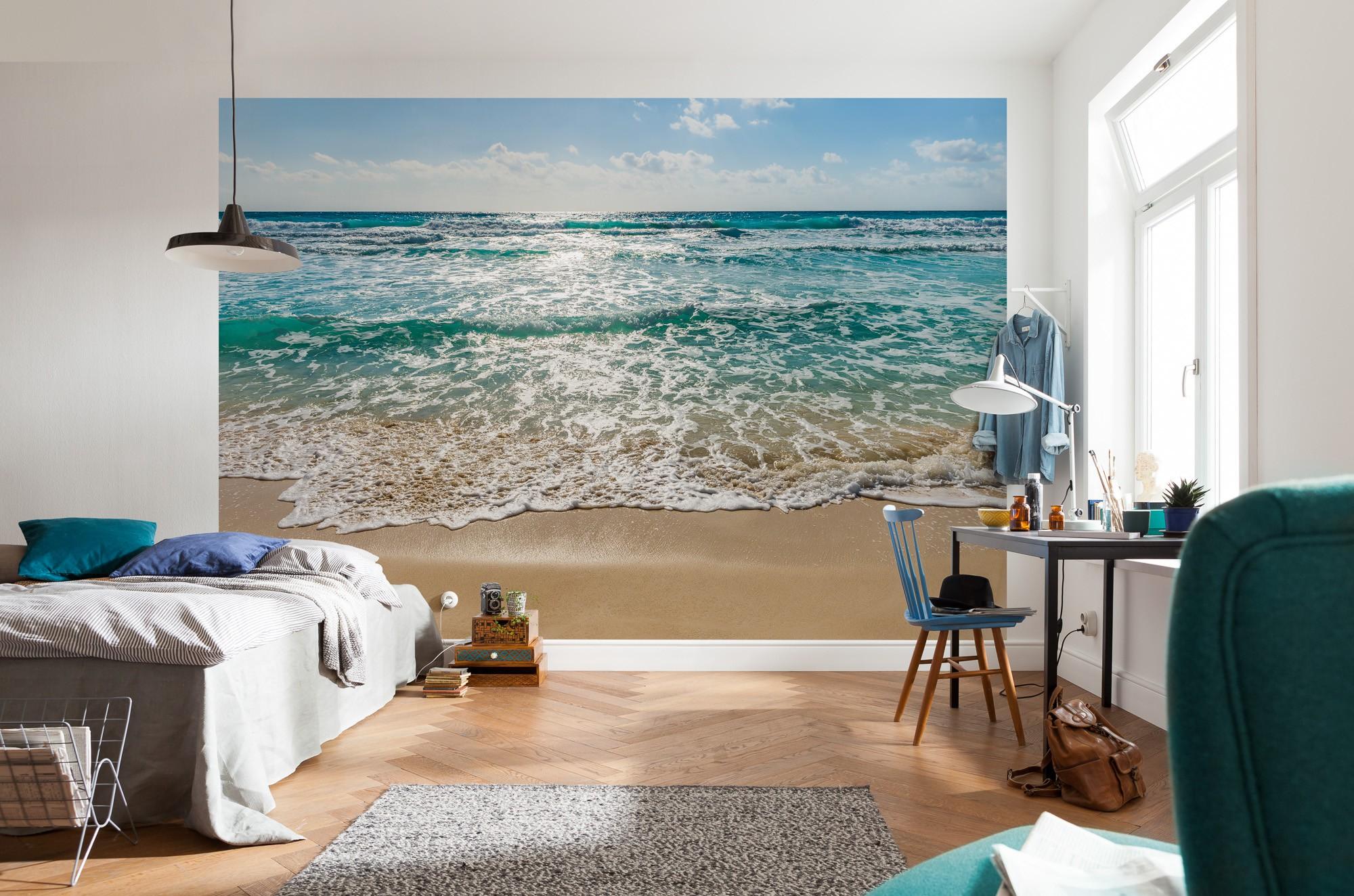 Фотообои море в интерьере фото