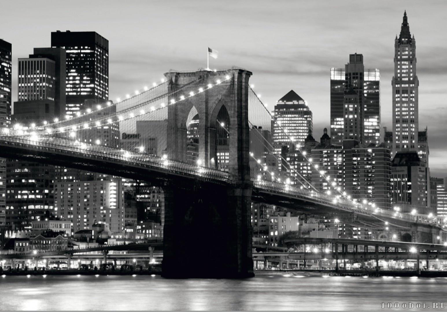 черно белые фотографии городов