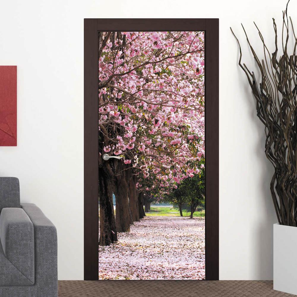 фотообои на дверь: