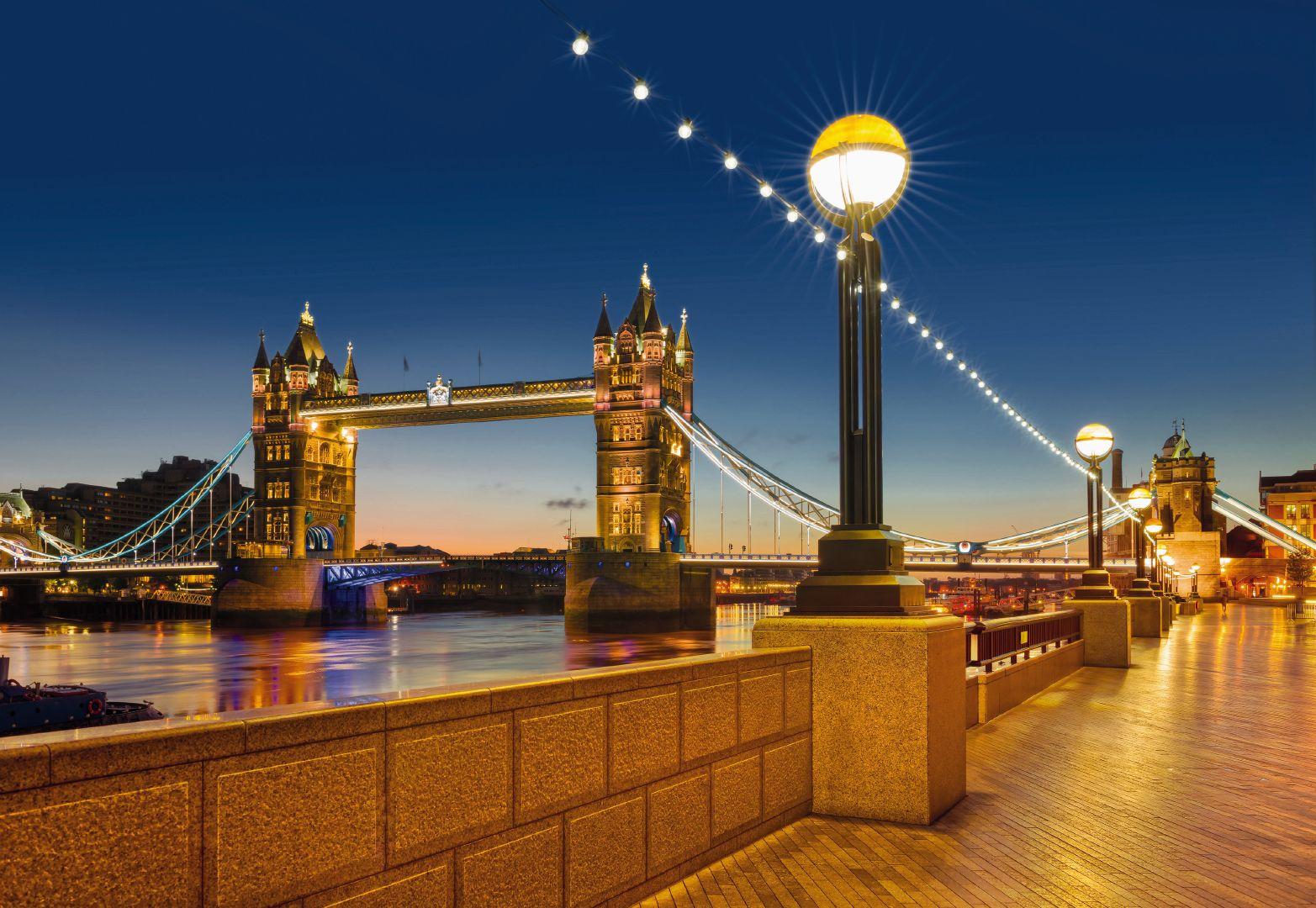 фотообои мост картинки ламп