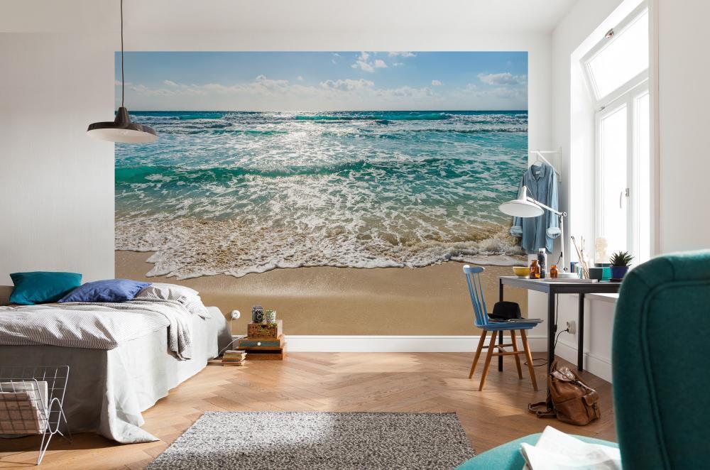 фотообои на стену для спальни швы, соединяющие