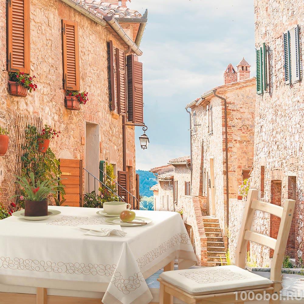 Италия в цветах фотообои