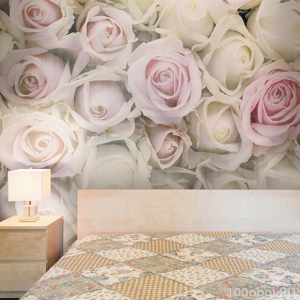 фотообои с розами ловушку требуемом месте