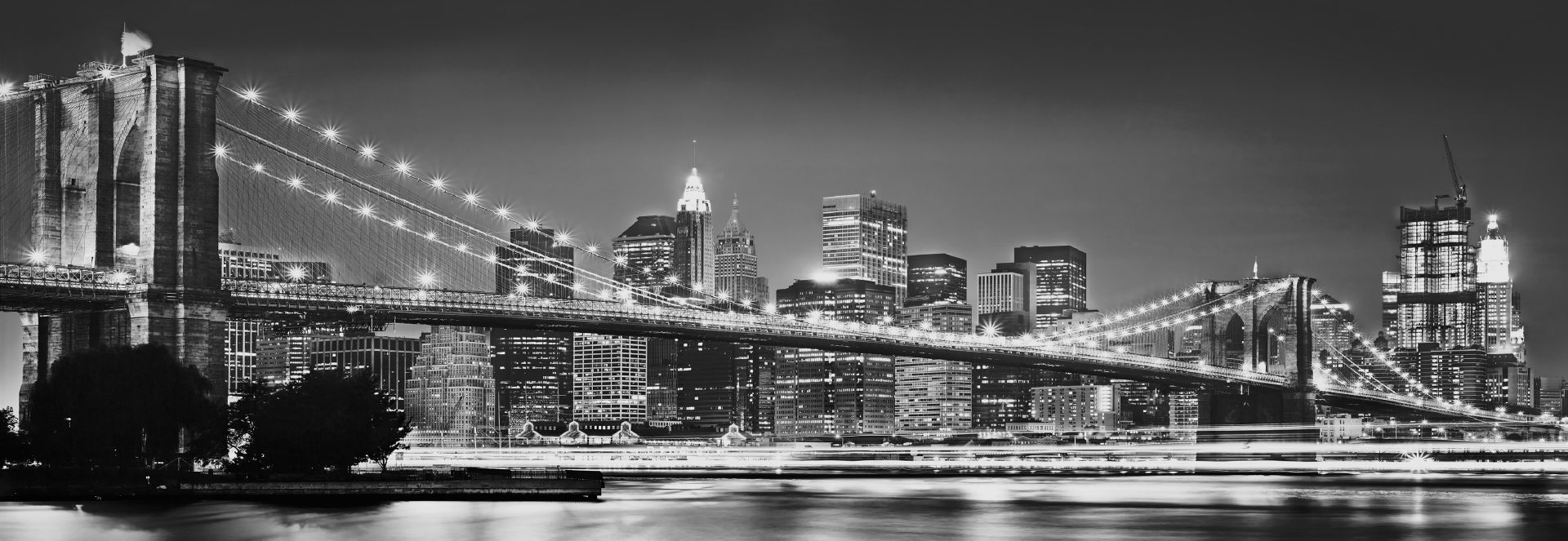 Komar 4nw 320 for Black and white new york mural wallpaper