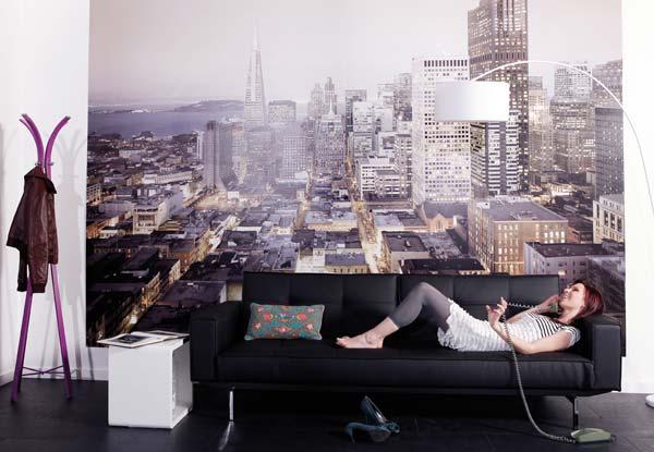 фотообои для стен в интерьере: