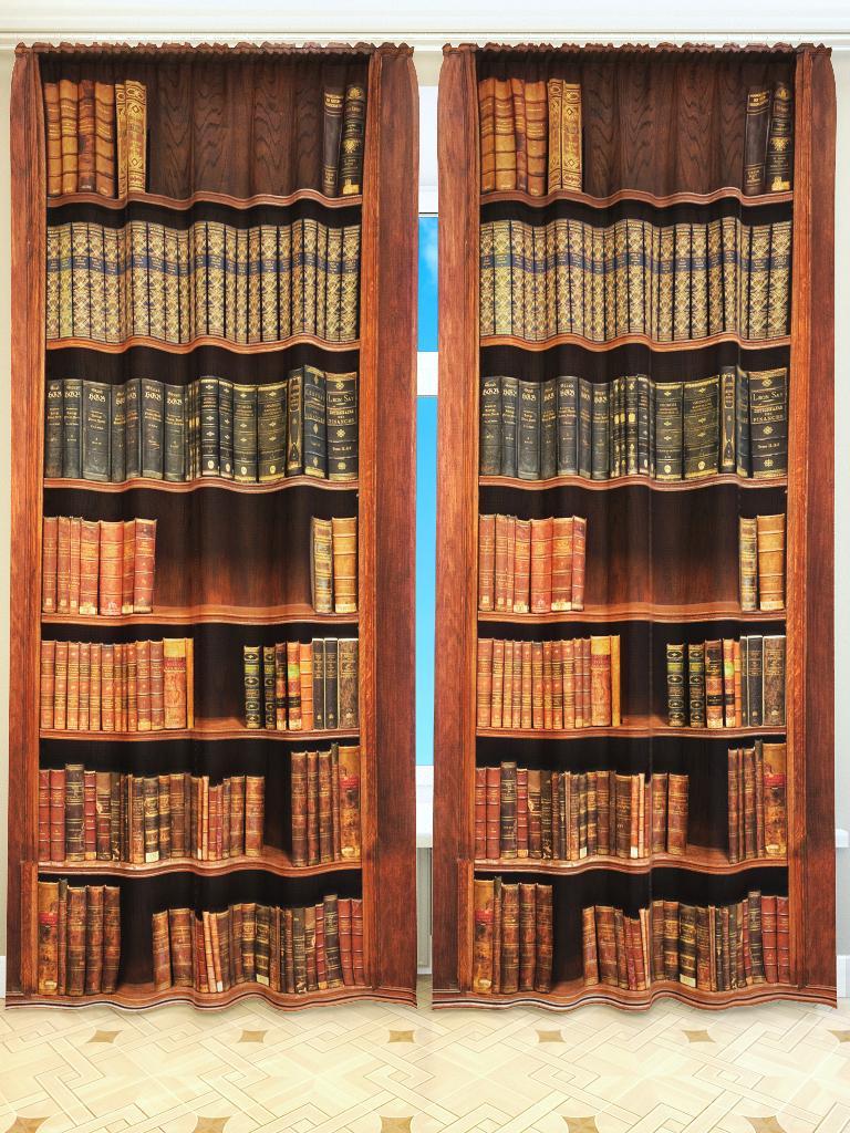 Фотоштора s2274 книги / библиотека.