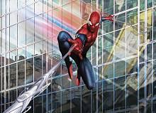 Детские фотообои на стену «Человек-паук спешит на помощь» Komar 4-439 Spider-Man Rush