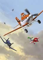 Детские фотообои на стену «Самолеты» Komar 4-452 Planes