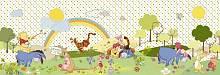 Детские фотообои на стену «Винни Пух Чудесный день» Komar 4-410 Winnie Beautiful Day