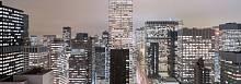 Панорамные фотообои «Большой город» Komar 4-258 Metropolitan