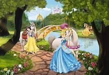 Детские фотообои на стену «Принцессы на прогулке» Komar 1-454 Royal Gala