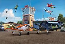 Фотообои на стену «Аэропорт» Komar 8-469 Planes Terminal
