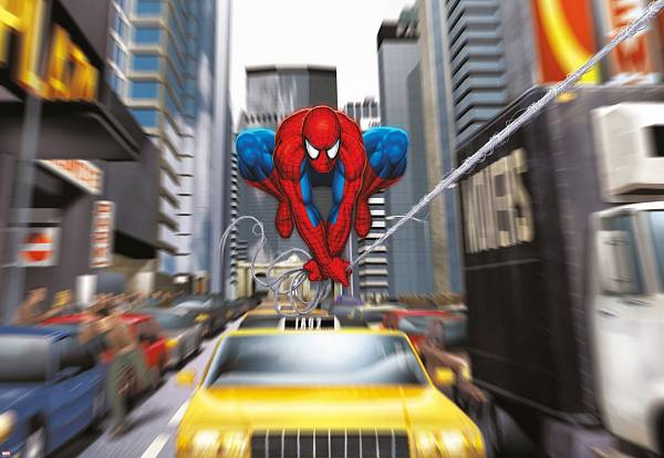 ������� �������� �� ����� ��������-���� ��� ���. Komar 1-425 Spiderman Rush Hour
