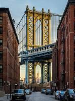 ФЛИЗЕЛИНОВЫЕ фотообои на стену «Необычный вид на Empire State Building». Komar XXL2-013 Brooklyn