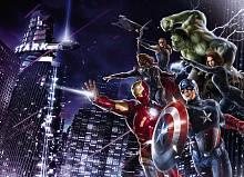 Детские фотообои на стену «Мстители ночного города» Komar 4-434 Avengers Citynight