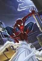 Детские фотообои на стену «Человек-Паук на крыше» Komar 1-424 Spiderman Rooftop
