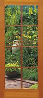 Фотообои на дверь «Окошко в сад» Komar 2-1200 French Window