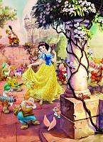 Детские фотообои на стену «ТАНЕЦ БЕЛОСНЕЖКИ».Komar 4-494 Dancing Snow White