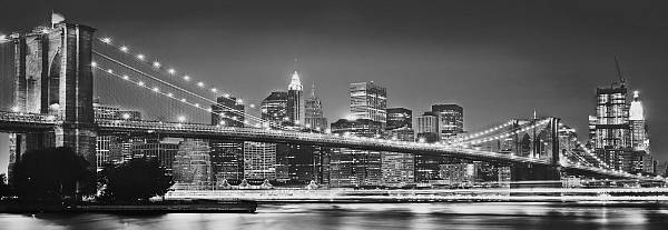 Панорамные фотообои «Бруклинский мост» Komar 4-320 Brooklyn Bridge