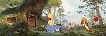 Детские фотообои на стену «Дом Винни Пуха» Komar 4-413 Winnie Poohs House