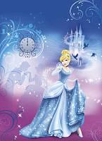 Детские фотообои на стену «Золушка» Komar 4-407 Cinderella's Night