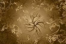 ФЛИЗЕЛИНОВЫЕ фотообои на стену «Золото» KOMAR 8NW-703 Gold