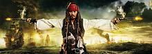 Детские фотообои на стену «Капитан Джек Воробей» Komar 1-419 Pirates&Pistols