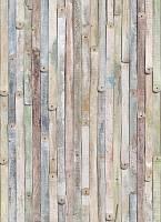 Флизелиновые фотообои «Винтажные деревянные рейки» KOMAR 4NW-910 Vintage Wood