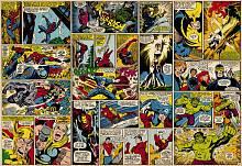 Детские фотообои на стену «Герои комиксов» Komar 8-427 Marvel Comic Heroes