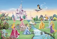 Детские фотообои на стену «Замок Принцесс» Komar 8-414 Princess Castle