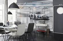 Фотообои на стену «Audi R8» Komar 8-957 Audi R8 Le Mans