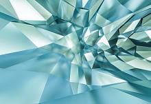 Фотообои на стену «3D Кристаллическая пещера» Komar 8-879 3D Crystal Cave