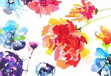 ФЛИЗЕЛИНОВЫЕ фотообои на стену «Страсть Цветочная композиция» KOMAR 8NW-917 Passion